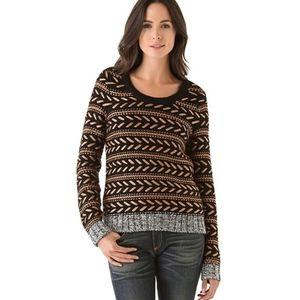 Rag & Bone Lisbeth Copper Metallic Sweater Medium